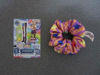 ハッピーセットのおもちゃとアイカツカード